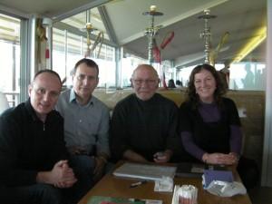 Isa Alemdag, Karahan Mete, Yuksel Oktay, Bircan Unver @ Istanbul Meeting January 2012